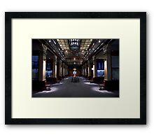 Mortlock Library - Lower Level. Framed Print