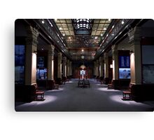 Mortlock Library - Lower Level. Canvas Print
