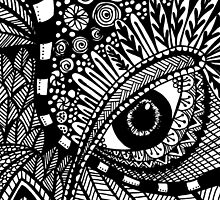 Animal Zentangle by Jeri Stunkard