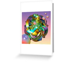 Travelling in my dreams Greeting Card