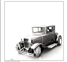 """""""Hot Rod Ford at Top Gun"""" by Don Bailey"""