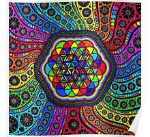 Sacred Geometry - Kaleidoscope Of Life Poster