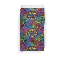 Sacred Geometry - Kaleidoscope Of Life Duvet Cover