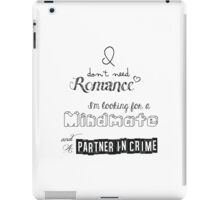 Looking for a Mindmate (text only - light) iPad Case/Skin