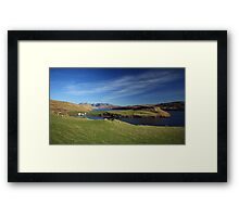 Gesto Bay Framed Print