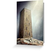 XVI. The Tower Greeting Card