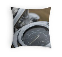 Chrome speedo Throw Pillow