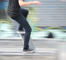 Skater blur by Xavier Russo