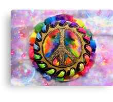 Peace Symbol Canvas Print