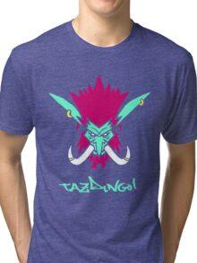Tazdingo! Sen'Jin Tri-blend T-Shirt