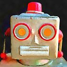 Vintage Robot by Edward Fielding