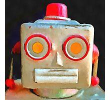 Vintage Robot Photographic Print