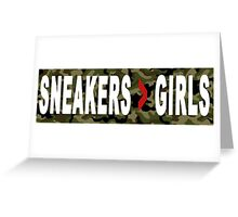 SNEAKERS ADDICT Greeting Card