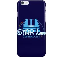 STAR Labs Castle (BLUE) iPhone Case/Skin