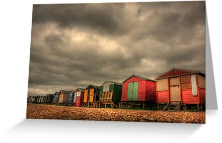 Whitstable Beach Huts 2 by fasteddie42