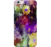 Purple Floral Fantasy iPhone Case/Skin