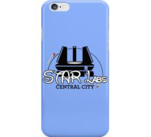 STAR Labs Castle (BLACK) iPhone Case/Skin