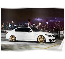 BMW E60 M5 Poster