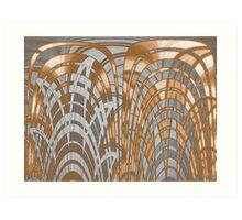 Bamboo Lights Art Print