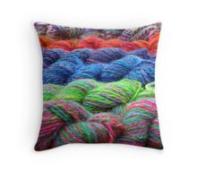 Fresh Yarns2 Throw Pillow