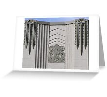 art deco Greeting Card