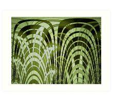Bamboo Shadz Art Print