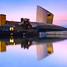 Imperial War Museum in Salford Quays - Machester, England by Yen Baet
