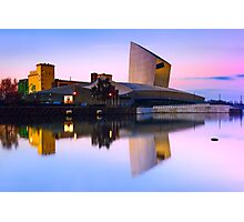 Imperial War Museum in Salford Quays - Machester, England Photographic Print