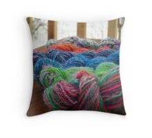Fresh Yarns3 Throw Pillow