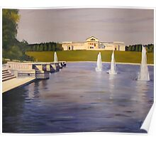St. Louis Art Museum and Fountains Poster