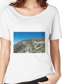 Mountains, Rocks and Sky Women's Relaxed Fit T-Shirt
