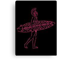 Indian Surfer Canvas Print