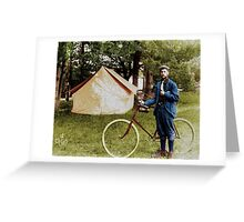 Let's Go Camping Greeting Card
