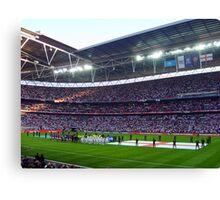 England Football Team - Wembley Stadium Canvas Print