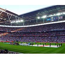 England Football Team - Wembley Stadium Photographic Print