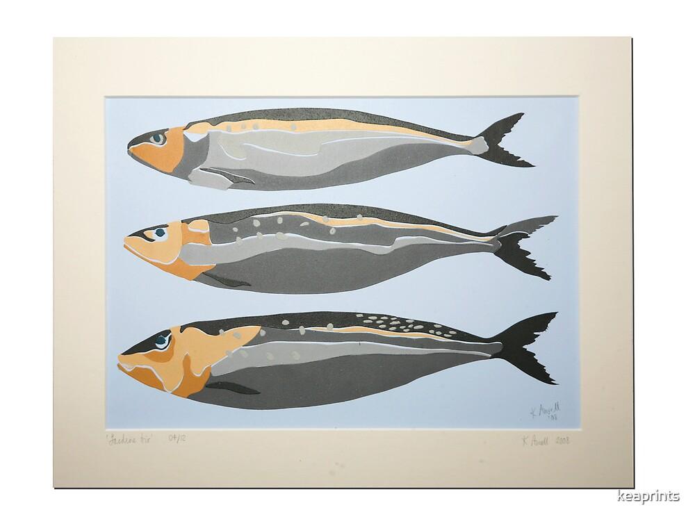 Sardine Trio by keaprints