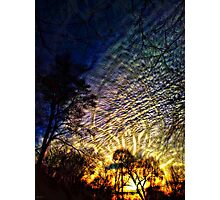 Sundown-own-own Photographic Print