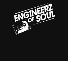 Offical Engineerz of Soul Shirt White Logo Mens V-Neck T-Shirt