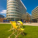 Manchester Spinningfields by Stephen Knowles