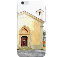 Laureana Cilento: view with chapel iPhone Case/Skin