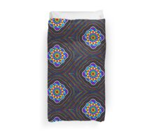 Sacred Geometry - Rainbow Mandala Duvet Cover