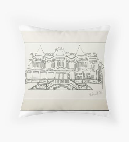 Russell Cotes Museum Throw Pillow