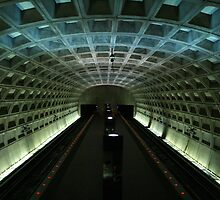 Metro station by Elaine Li
