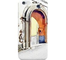 Laureana Cilento: view with doors, windows and balconies iPhone Case/Skin