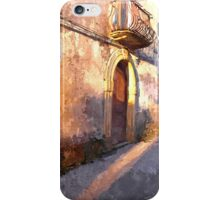 Laureana Cilento: view with doors and balconie iPhone Case/Skin