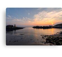 Sunset at Portpatrick Canvas Print