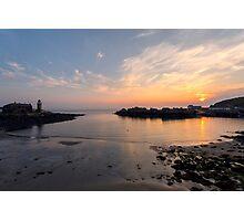Sunset at Portpatrick Photographic Print