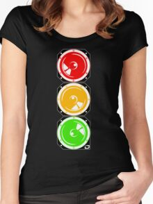 Sounds Like Traffic Women's Fitted Scoop T-Shirt