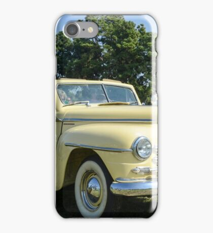 classic 40's Plymouth convertible  iPhone Case/Skin