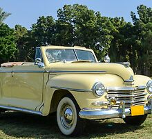 classic 40's Plymouth convertible  by PhotoStock-Isra
